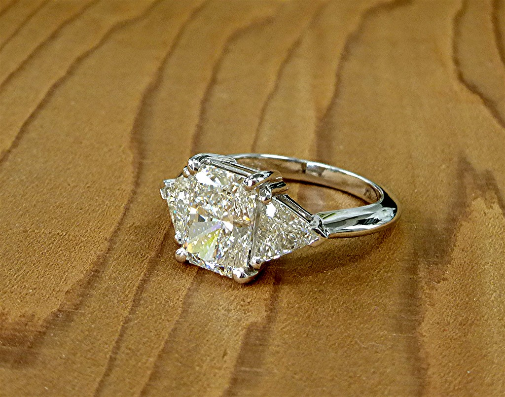 covered gold pave ring diamond halo cut radiant in with shank a yellow engagement rings double