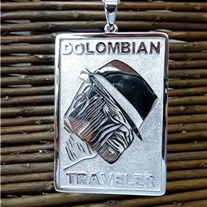 Traveler logo pendant