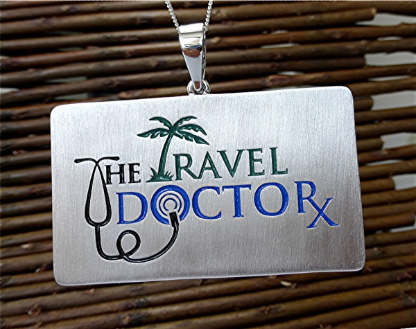 The travel doctor log, enameled