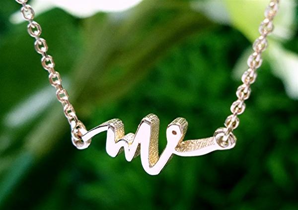 Logo Dainty Necklace