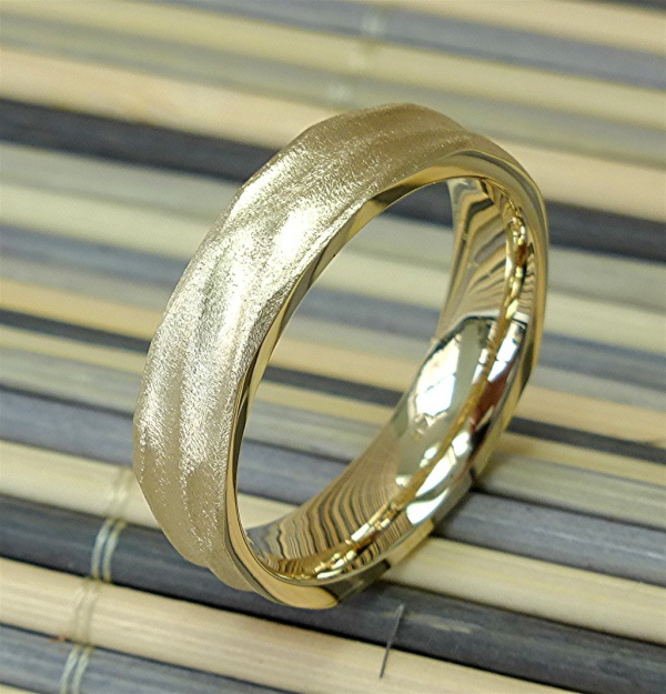 14k gold mens ring