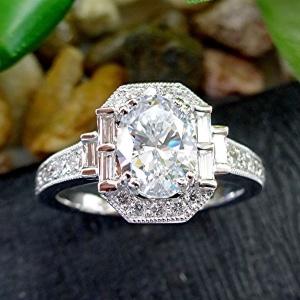 Diamond 14k engagement ring