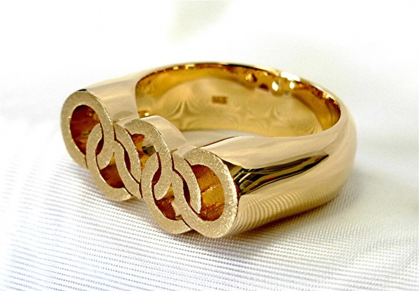 14k gold Olympic ring