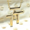 "Triple ""T"" Necklace"