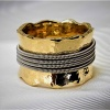 Guitar String Wrapped Ring