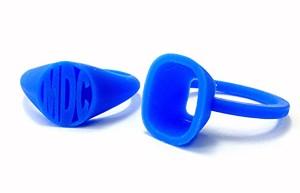 #3 blue wax