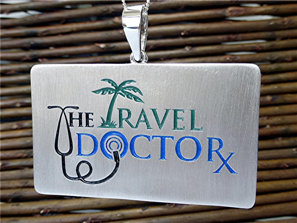 The travel doctor log, enameled