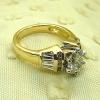 Good old nineties designs engagement ring