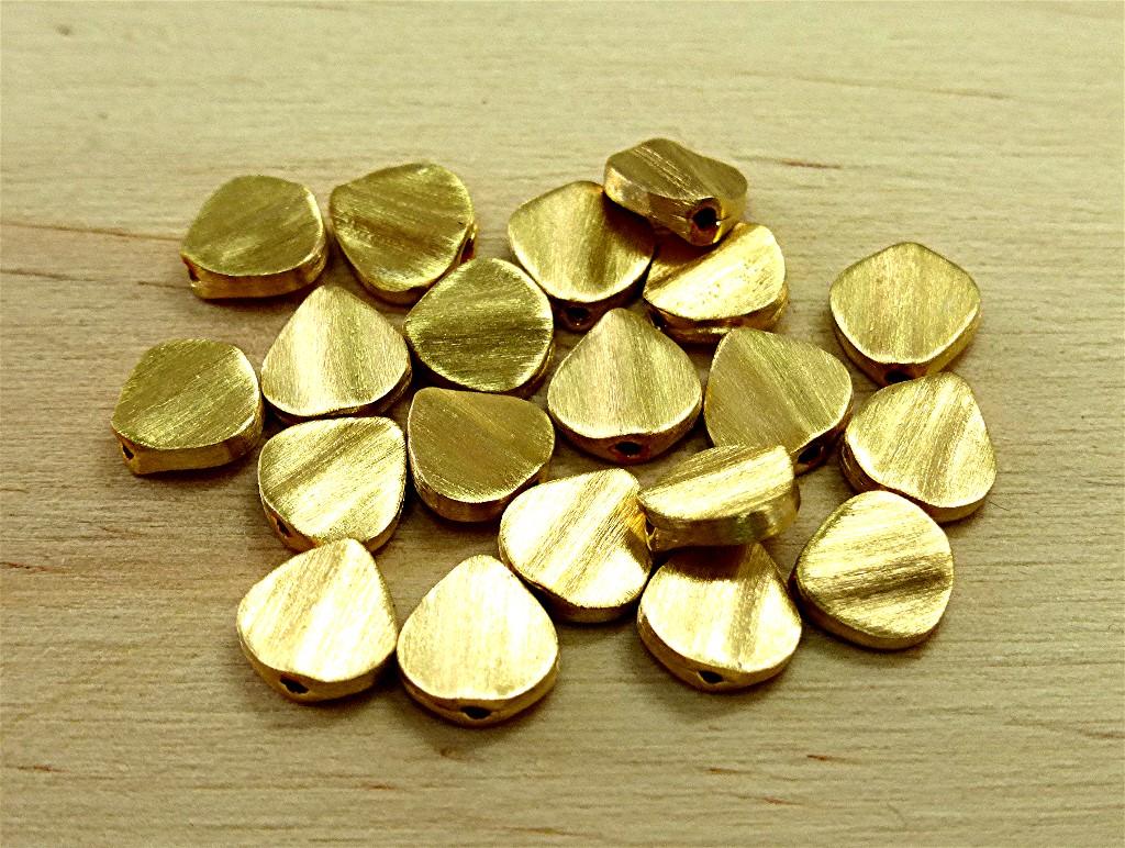 22 karat gold beads