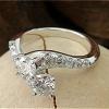 Mix diamond size bypass ring
