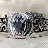 Black diamond mens ring