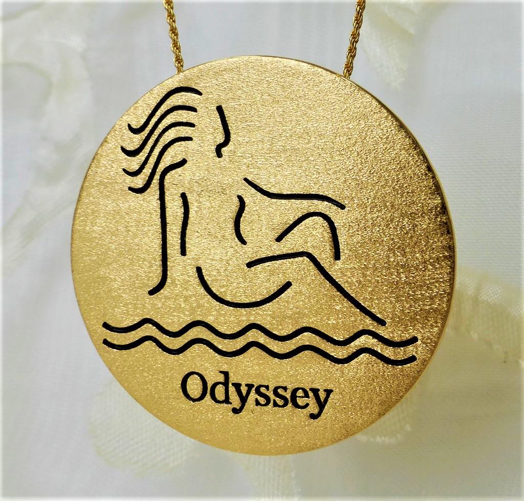 Logo pendant/brooch