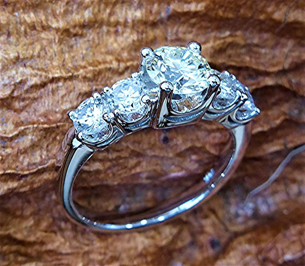 Two carat diamond engagement ringTwo carat diamond engagement ring