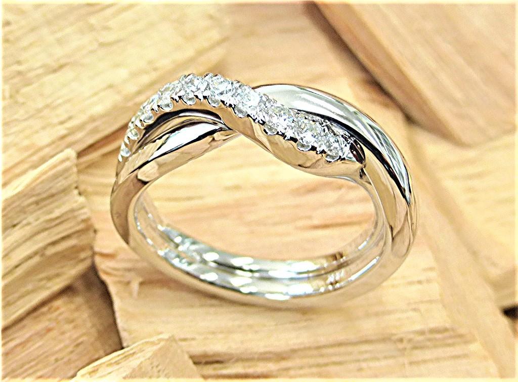 Diamond Interlock ring